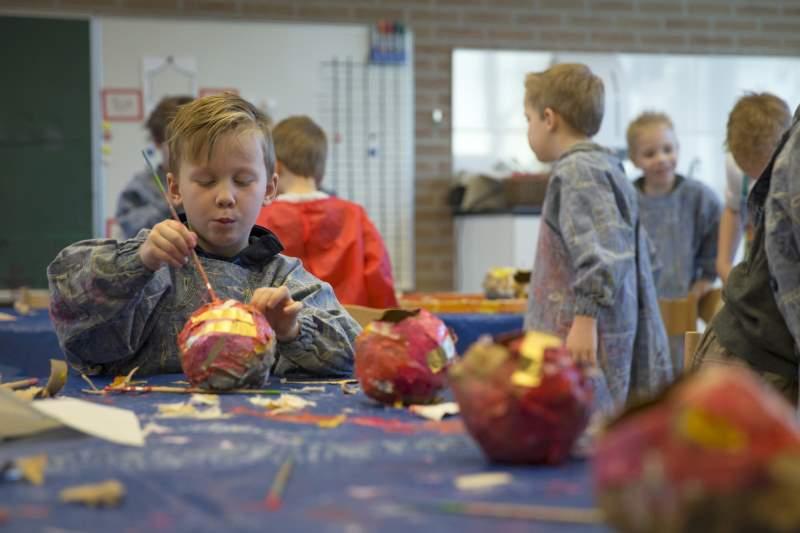 Kunst op Doornveldschool Staphorst (video en foto's)