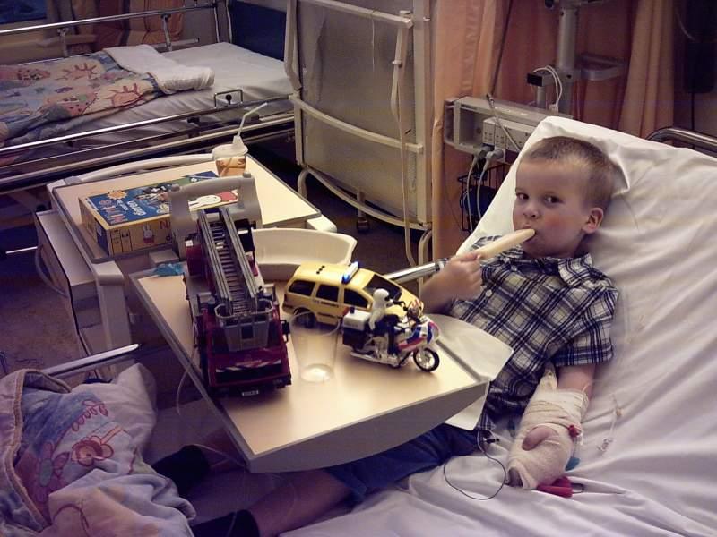 Kits-lezers lagen in het ziekenhuis